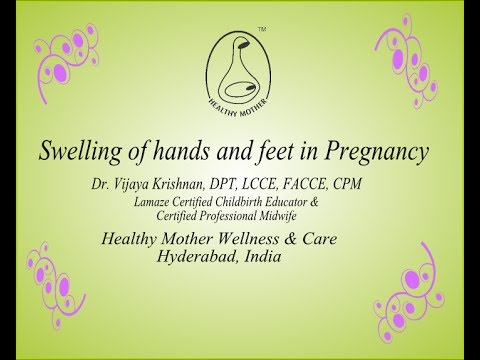 How to reduce Swelling of hands and feet in Pregnancy - Healthy Mother