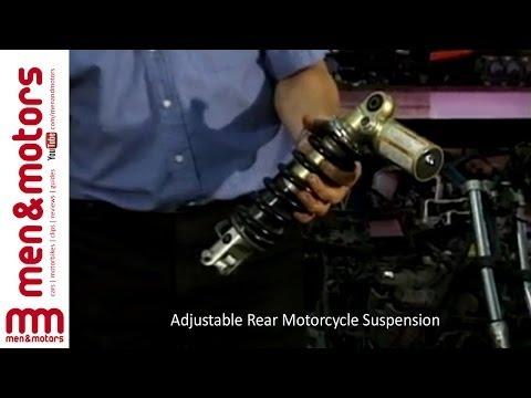 Adjustable Rear Motorcycle Suspension