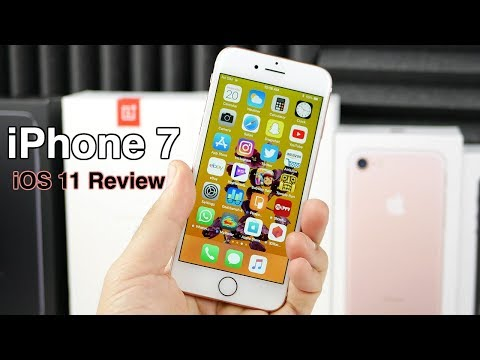 iPhone 7 iOS 11 Official Review!