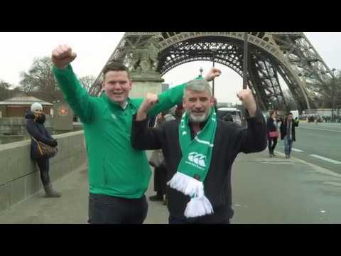 The fans are bringing #HomeAdvantage to Paris. Come on Ireland!