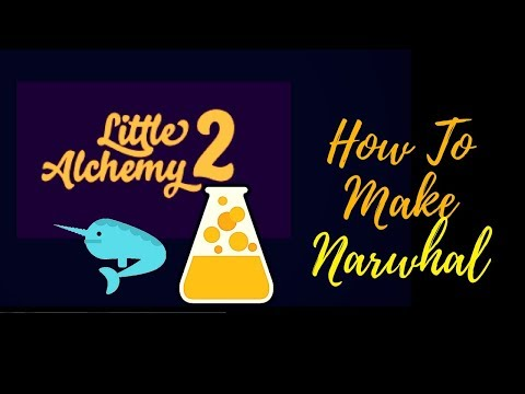 Little Alchemy 2-How To Make Narwhal Cheats & Hints
