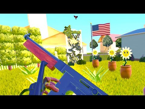 EXTREME VIRTUAL REALITY GARDENING!?! (The American Dream VR HTC Vive)