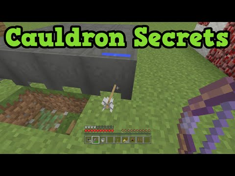 Minecraft Xbox 360 / PS4 5 Cauldron Secret Uses