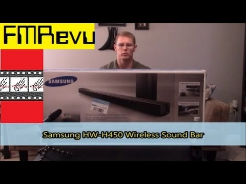 How to connect Sound Bar to TV, Blu-Ray Player, DVD Player, & Cable Box | Samsung HW-H450 Sound Bar
