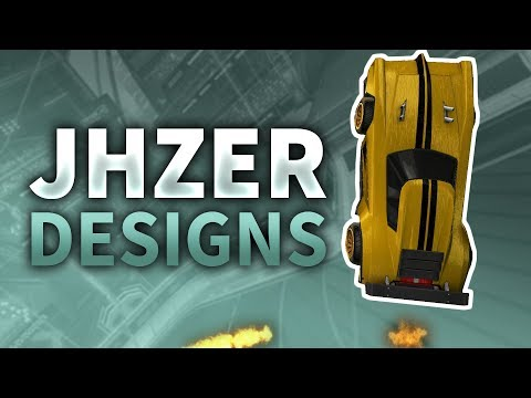 JHZER CAR COLORS AND DESIGNS - Pro Player Designs