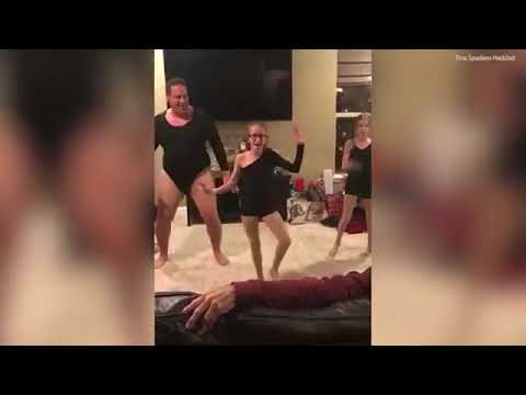 dad performs hysterical dance to single ladies