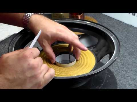 How to Recone a JL Audio 12W6 or 10W6 Subwoofer - Repair Rebuild