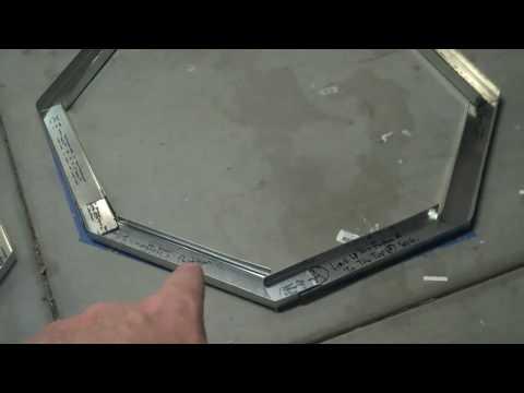 Octagon Fire Pit Frame KIt