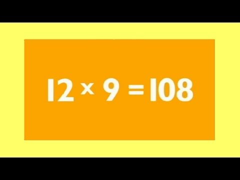 9 Times Table | Kids Multiplication Songs | Children Love to Sing