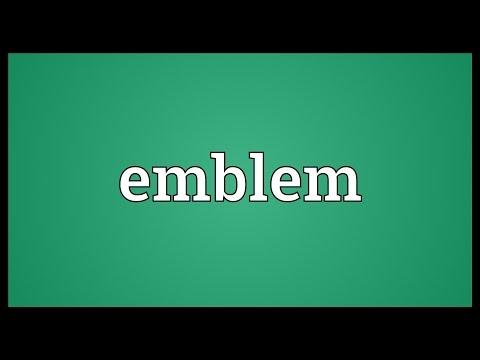 Learn English Vocabulary by Maya - Allegory - Emblem Synonym