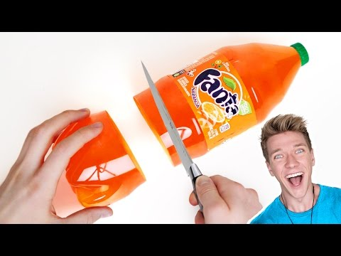 DIY Giant GUMMY Soda Bottle Shape | How To Make Edible Jello & Jelly Soda Tutorial | Collins Key