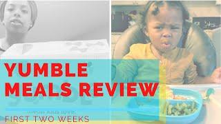 Yumble Kid Meal Prep Review (Part 1) | Mom Vlog
