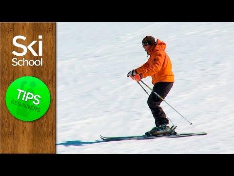 Basic Skiing Stance - Learn How To Ski Beginner Lesson