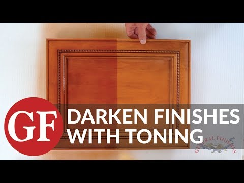How to Darken an Existing Finish by Toning