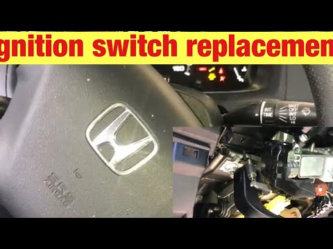 How to Replace the Ignition Switch on a 2003-2007 Honda Accord