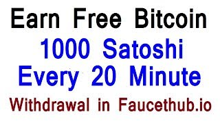Free Earn Bitcoin 0 08 BTC  Every Mint 1200 Satoshi  No