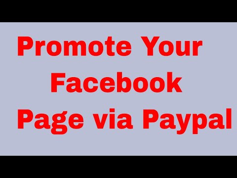 Promote Your Facebook Page Via Paypal easily 2017