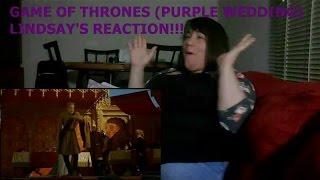 GAME OF THRONES (PURPLE WEDDING) - LINDSAY