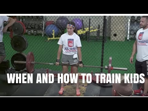 When and How to Train Your Kids