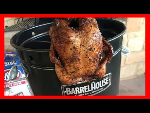 The Best BBQ Chicken On The Barrel House Cooker