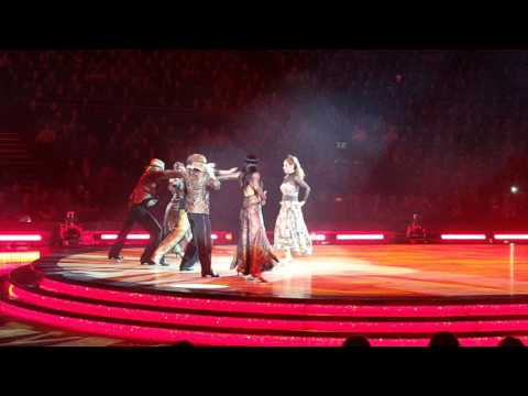 Strictly come dancing at The O2 11/02/17 Kevin & Louise paso doble