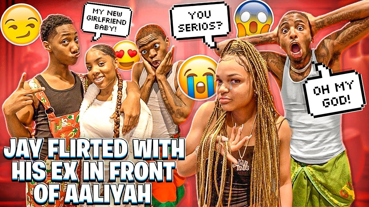 JAY FLIRTED WITH HIS EX GIRLFRIEND INFRONT OF AALIYAH!💔
