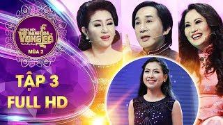 Đường đến danh ca vọng cổ 2| tập 3 full: HLV Kim Tử Long quyết chiêu mộ thí sinh vừa đẹp vừa hát hay