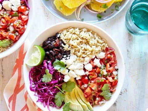 Whole-Grain Veggie Burrito Bowl | Live