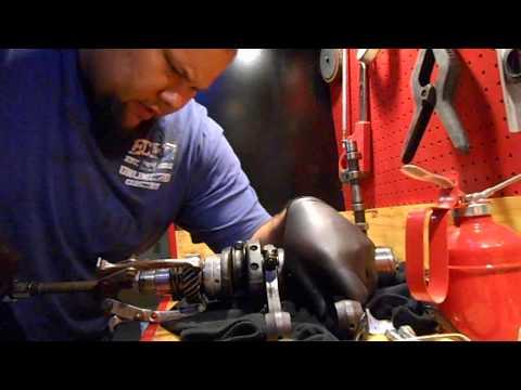 VW 1600 gear removal