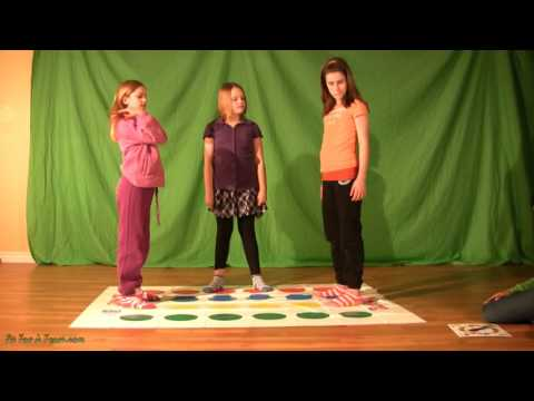 Twister - See Sloane & Katrina Play and Teach the Game