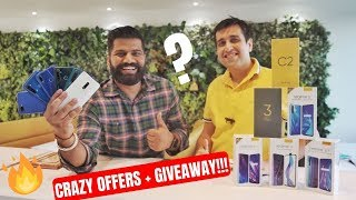 Realme Festive Days Crazy Sale Offers + Giveaway 🔥🔥🔥