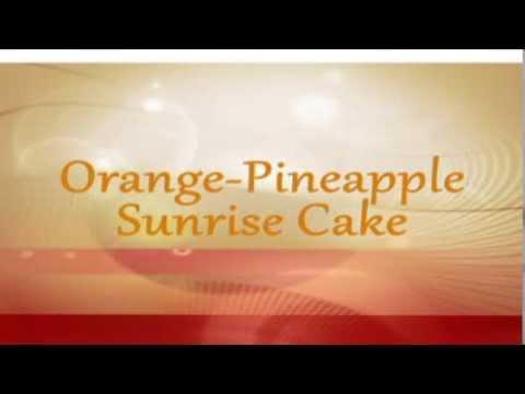 Orange Pineapple Cake Recipe - DELISH!
