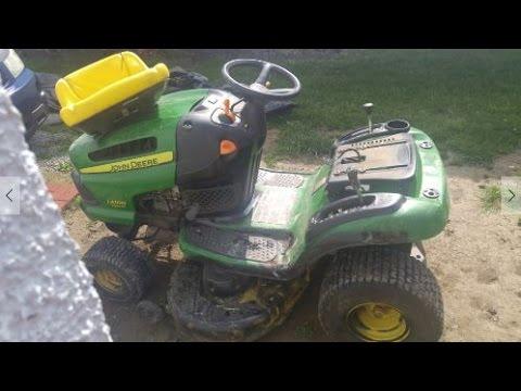 How to Adjust Seat on John Deere LA100 Riding Lawnmower