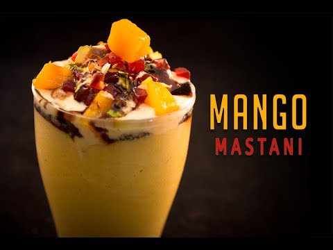 Mango Mastani - Favorite Summer Drink - Mango Milkshake With Ice Cream-Mango Recipe Sharmilazkitchen