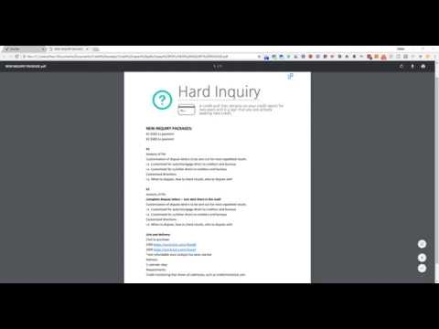 New Inquiry Deletion Packages! Remove Them Fast!