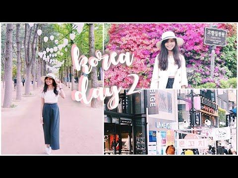 VLOG: Day 2 SEOUL, KOREA- Myeongdong, Nami Island & more!! (+ KDRAMA FILMING LOCATIONS!!)