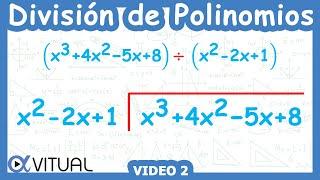 División De Polinomios Ejemplo 2