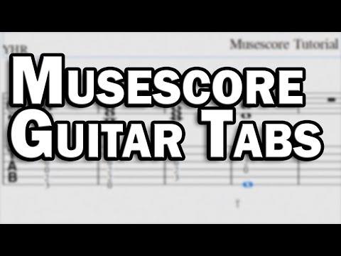 Musescore Guitar Tabs - Free Tab Software