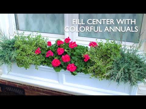 How to Create a Colorful Window Box