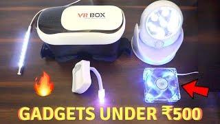 Unique Gadgets Under Rs500   Part 10   Tech Unboxing 🔥