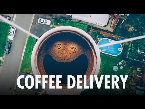 COFFEE DRONE DELIVERY