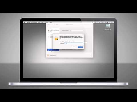 07l How to disable account name in macOS X