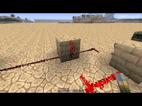 Basic Logic Gates! (part1) [Minecraft Redstone Tutorial]