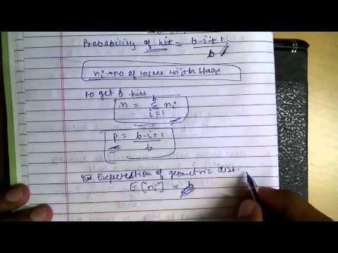 Probabilistic Analysis :Balls and Bins