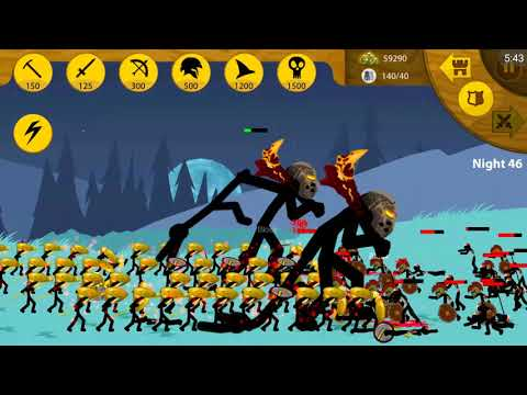 Stick War Legacy Apk Hack (Endlles Zombies): Unlimited Gemes - Android Game Play FHD#
