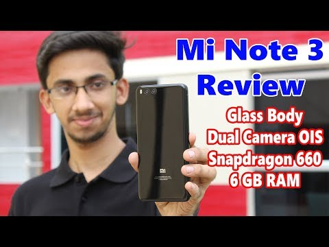 Xiaomi Mi Note 3 Review -Best under 20K!   MY NEW DAILY DRIVER!