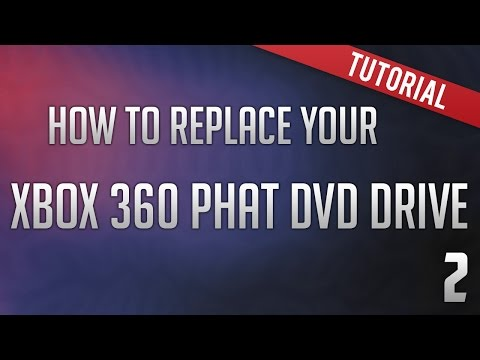 How to replace your Xbox 360 Phat DVD Drive - Soldering - NO FLASHING!