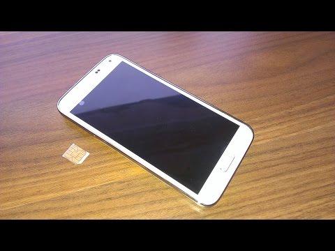 Samsung Galaxy S5 Sim Karte einlegen insert sim card tutorial Anleitung micro sim  моби́льник  大哥大