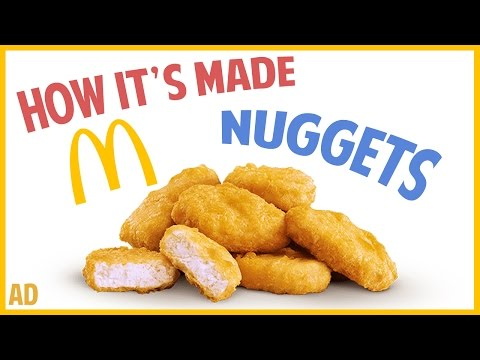 How it's made McDonald's Chicken McNuggets?