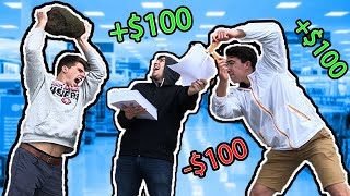 I Challenged Strangers to Rock, Paper, Scissors For $100
